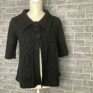 Allison Brittney Short Sleeve Cardigan